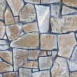Stock Photo: Solid stone wall