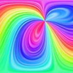 Rainbow abstract background — Stock Photo