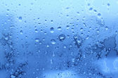 Ice and water drops texture — Stock Photo