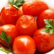 Salted tomatoes - Foto de Stock