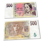 The czech money — Stock Photo