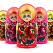 Russian Dolls — Stock Photo #3070340