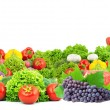 Stock Photo: Fresh fruits and vegetables