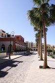 The street in the Jordan city — Stock Photo