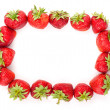 Strawberries frame — Stock Photo #3285262