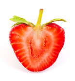 Skär strawberrie — Stockfoto