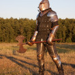 Medieval knight — Stock Photo #3752015
