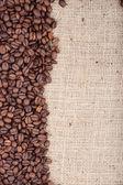 Brązowy palonych ziaren kawy — Zdjęcie stockowe