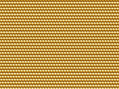 Seamless gold fabric closeup background. — Stock Photo