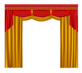 Curtain. — Stock Vector
