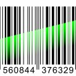 Barcode scaning. - Stock Vector