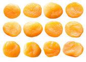 Dried apricots set. — Stock Photo