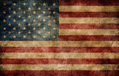 Americká vlajka. — Stock fotografie