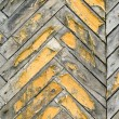 Old parquet. - Stock Photo