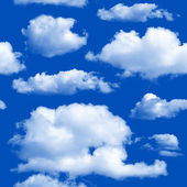 Clouds seamless background. — Stock Photo