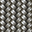 Woven metal seamless pattern. — Stock Vector