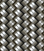 Woven metal seamless pattern. — Stock Vector