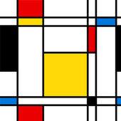 Naadloze abstracte geometrische kleurrijke vector patroon. — Stockvector