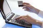 Online-betalning — Stockfoto
