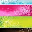 Floral banners — Stock Vector #3017564