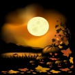 Royalty-Free Stock Imagem Vetorial: Halloween background