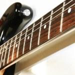 Electro guitar close up — Stock Photo #3346989