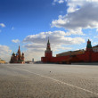 Kremlin in red square in moscow — Stock Photo