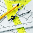 Stock Photo: Set geometric and plan
