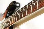 Electro guitar close up — Stock Photo