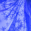 Floral organza  as abstract wave  background — Foto Stock