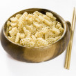 Royalty-Free Stock Photo: Noodles and Chinese Sticks