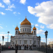 Russian cathedral church — Stock Photo #3374461