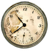Relógio de bolso antigo — Foto Stock