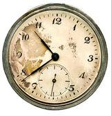 Vecchio orologio da tasca — Foto Stock