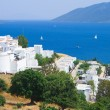 Landscape on sea from city Bodrum - Stock Photo