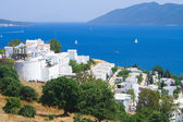 Landscape on sea from city Bodrum — Stock Photo