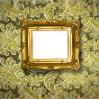 Stock Photo: Frame baroque design