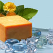 Soap with natural ingredients - Photo