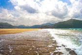 Sea and beach — Stock Photo