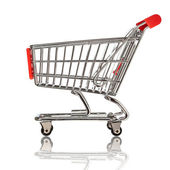 Carro de compras — Foto de Stock