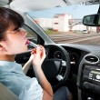 Driving a car — Stockfoto