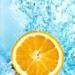 Orange and water - Foto Stock