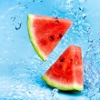 Watermelon and water — Stock Photo #3441226
