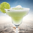 Margaritas with lime on water - Photo
