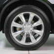 Wheel with steel rim - Photo