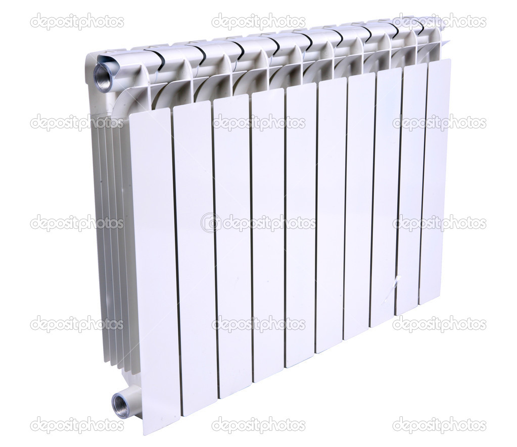 Radiator isolated over a white background — Stock Photo #4451435