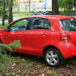 Stockfoto: Red car