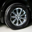 Stock Photo: Wheel with steel rim