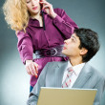 Businesspeople working — Stock Photo #4708008