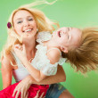 Mom and Daughter Having Fun — Stock Photo #4708546